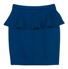 Ferriano Minifalda Peplum