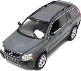 Miniatura Carro Volvo Xc90 V8 Suv Welly Escala 1/18