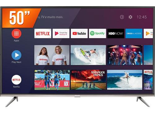 Imagem 1 de 4 de Smart Tv Led 50  Ultra Hd 4k Semp 50sk8300 3 Hdmi 2 Usb
