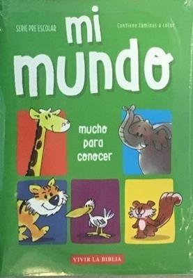 Imagen 1 de 2 de Mi Mundo - Escuela Bíblica - Material Para Niños
