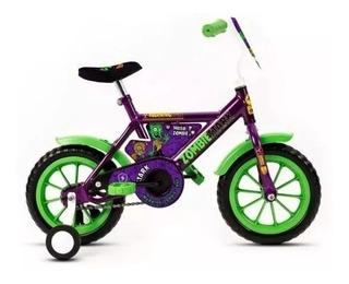 Oferta! Bicicleta Rodado 12 Stark Rueditas - Zombie