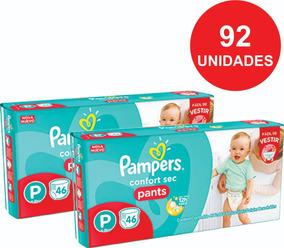 Fralda Pampers Confort Pants P, M, G Ou Xg - Aproveite