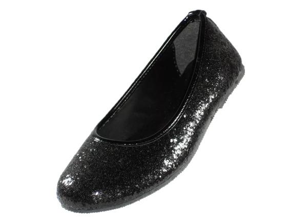 Chatita Pians Glitter Negro Del 27 Al 33