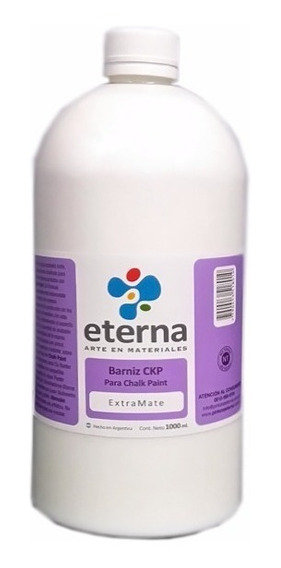 Barniz Mate Chalk Paint Eterna 1000 Ml