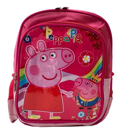 Mochila Peppa Pig Jardin 12 Pulgadas Espalda