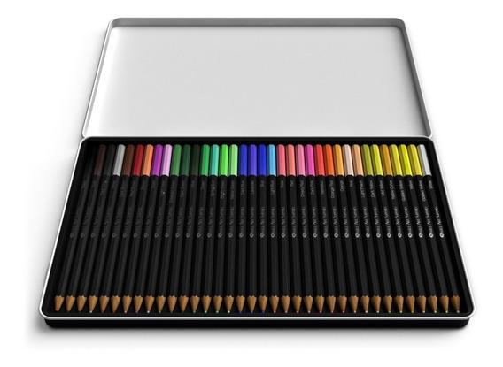 Set De 24 Lapices De Colores Marca Castle Art Supplies