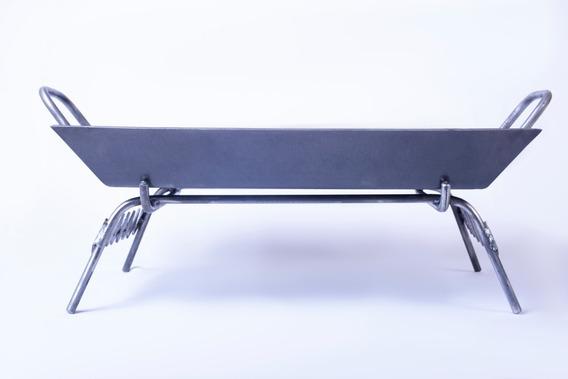 Plancheta 2h 3.2mm Espesor + Base Parrillera + 8cm/altura