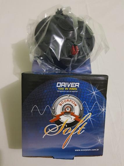 Par De Driver Soft Scorpion 100% Novo Na Caixa