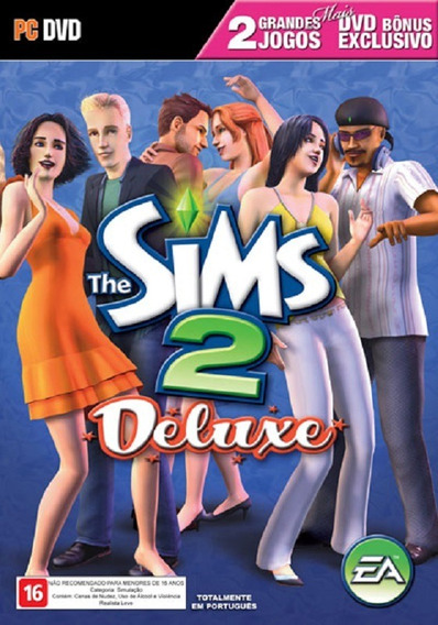 Game Pc The Sims 2 Deluxe Edition Dvd-rom