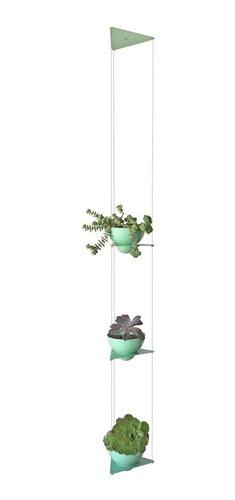 Maceta Colgante Triple - Altura Ajustable