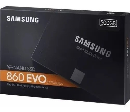 Ssd 500gb Samsung 860 Evo Sata3 6gb/s 2.5 550mb/s - Hd