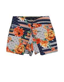 Short Saia Patchwork