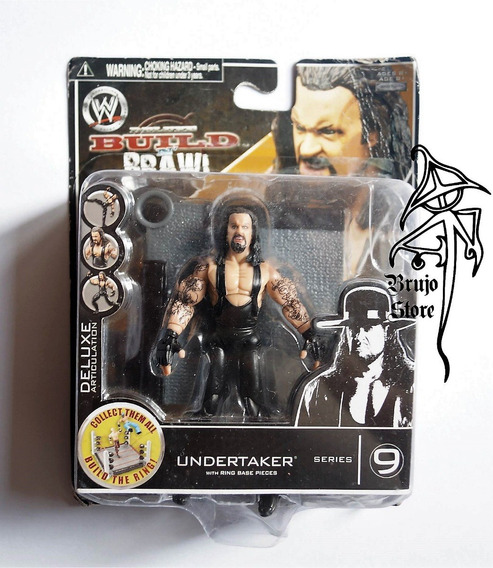 Wwe Build N Brawl Undertaker 10cm Brujostore