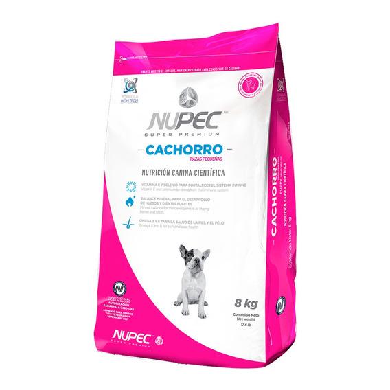 Croquetas Alimento Perro Cachorro Razas Pequeñas Nupec 8 Kg