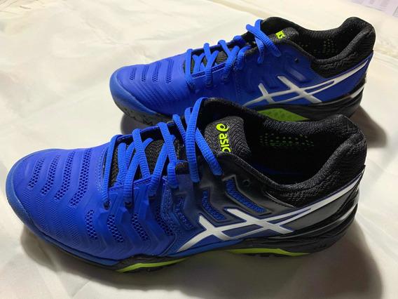 Zapatillas Tenis Asics Gel Resolution 7 Nuevas.