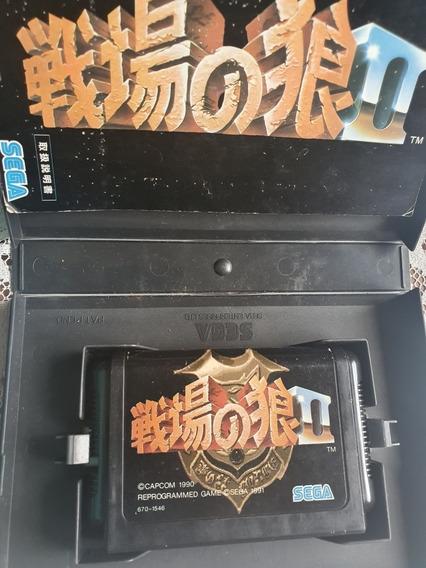 Lote 10 Jogos Mega Drive Originais Japoneses