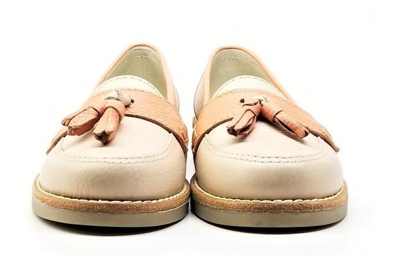 Mocasines Zapatos Mujer Cuero Vacuno Sol Tibay Calzados
