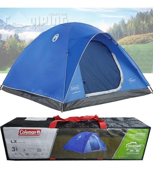 Barraca Acampamento Coleman Camping Impermeavel Lx 3 Pessoas