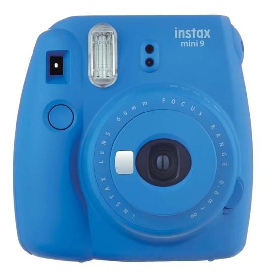 Câmera Instantânea Instax Mini 9 Azul Cobalto - Fujifilm