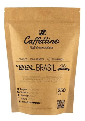 Imagen 1 de 8 de ¼kg Café De Especialidad Brasil En Granos