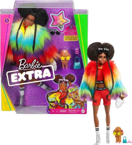 Barbie Extra Negra 2021 Lançamento Pronta Entrega Articulada