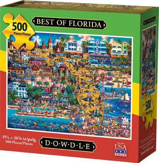 Dowdle Jigsaw Puzzle - Lo Mejor De Florida - 500 Piezas