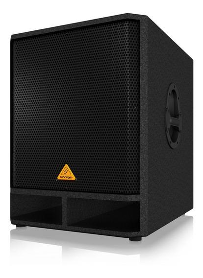 Caja Acustica Bajo 18 400/1600w Behringer Vp1800s+garantía