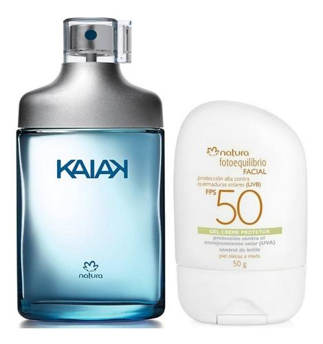 Perfume Kaiak Masculino + Protector Nat - mL a $522