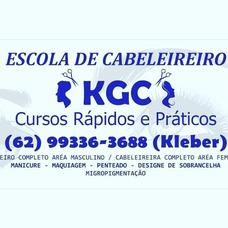 Escola De Cabeleireiro Kgc Cursos Rapidos E 100% Pratico