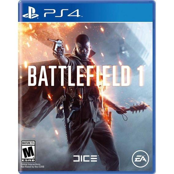 Battlefield 1 Ps4 Mídia Física Novo Lacrado