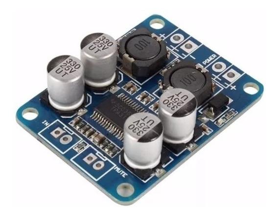 Amplificador 60w Mono Classe D 12-24volts Tpa3118