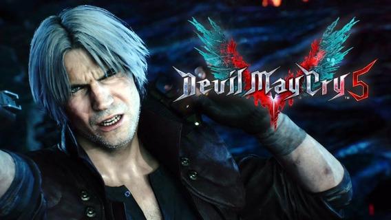 Devil May Cry 5 +1 Jogo Gratis (mídia Física)frete Grátis Pc
