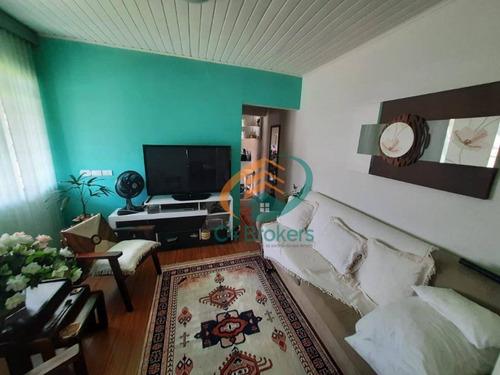 Sobrado Com 3 Dormitórios À Venda, 180 M² Por R$ 1.000.000,00 - Jardim Bom Clima - Guarulhos/sp - So0554