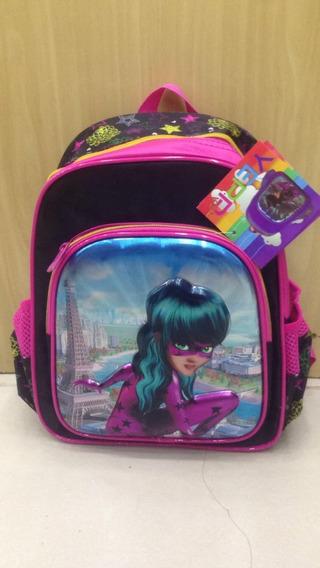Mochila Infantil Pequena Escolar Costas Ladybug 3d