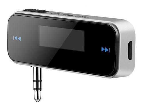 Imagen 1 de 9 de Coche Transmisor Fm Manos Libres Lcd 3,5mm Radio Mp3 Jugador
