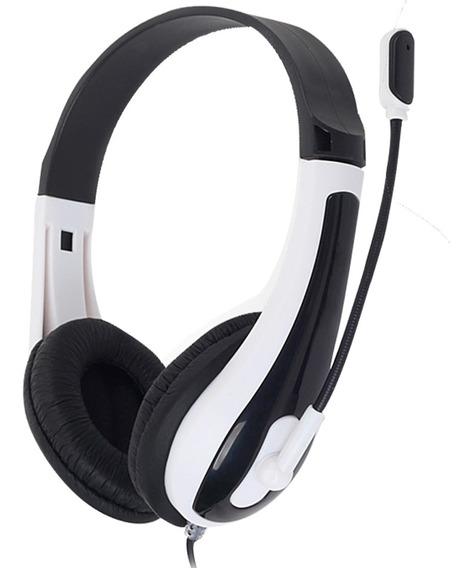 Headset Gamer Newex Hit Preto Super Bass