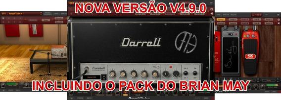 Amplitube 4 V4.8.0 Completo Dimebag, Mesa, Slash; + Tse X50