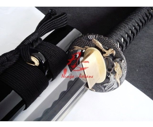 Imagem 1 de 9 de Espada Katana Samurai Afiada Com Corte Aço Carbono 1060