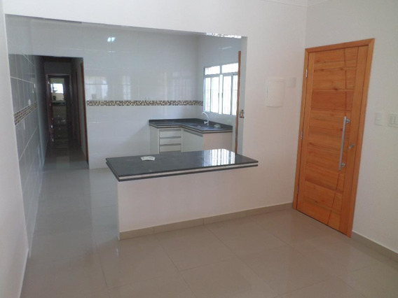 Casa Em Maracanã, Praia Grande/sp De 75m² 2 Quartos À Venda Por R$ 280.000,00 - Ca138263