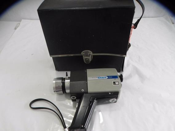 Filmadora Super 8 Chinon Dart 4x Antiga Md Box 22x20cm * Del