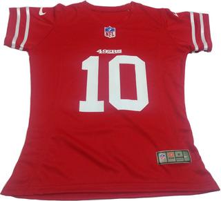 Jersey Mujer San Francisco 49ers Blusa Dama