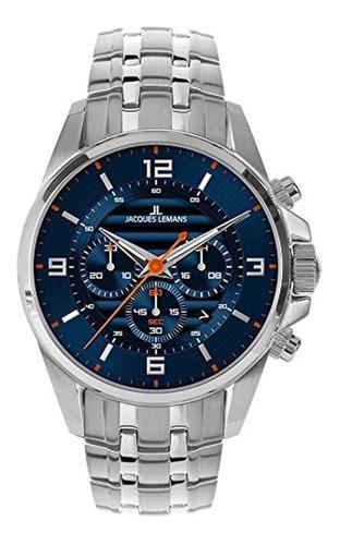 Reloj Jacques Lemans Hombre Coleccion De Lujo