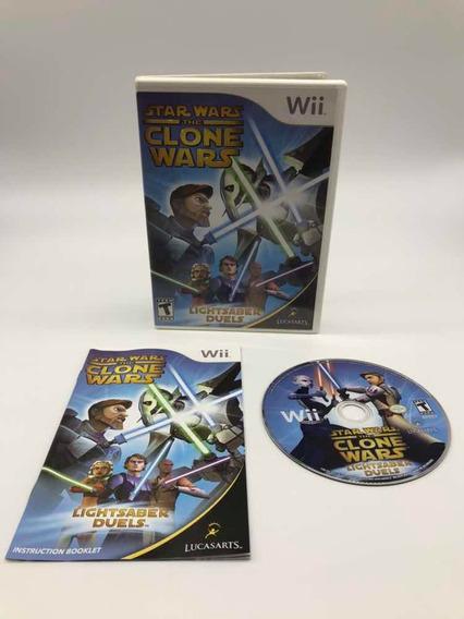 Star Wars Clone Wars Nintendo Wii Original Americano Cib