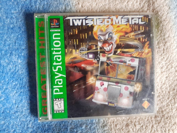 Twisted Metal Ps1 - Playstation 1 Completo Original