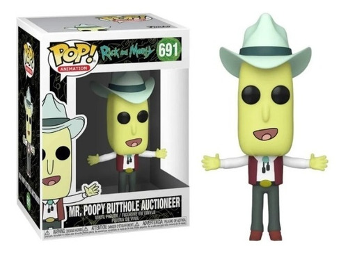 Funko Pop! Animation Rick And Morty Mr. Poopy (691)