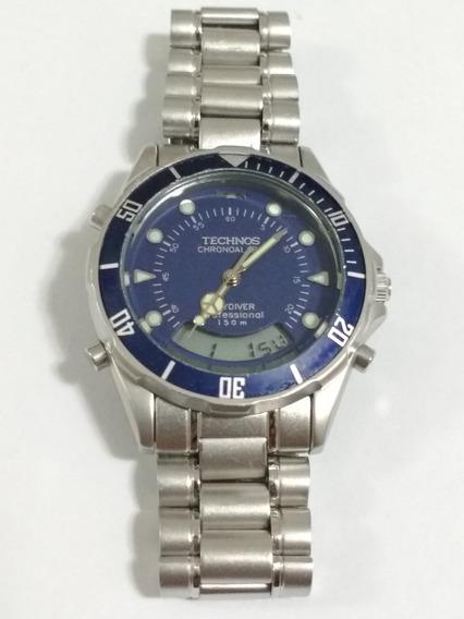 Relógio Technos T205.24 Funcionando, Original.