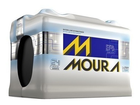 Bateria Efb Start Stop Moura Mf72ld 72ah 12v Cca650 A