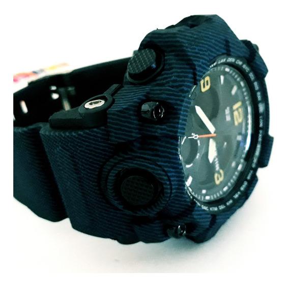 Relógio Digital Analógico Masculino Skmei 1155 Barato Azul