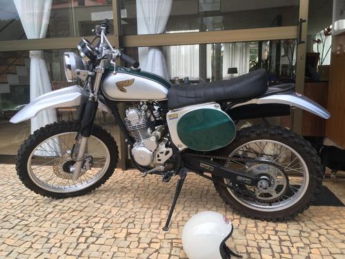 Honda Vintage Customizada Scrambler 230cc Crf Scrambler Nova