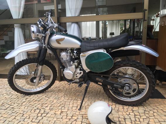 Honda Vintage Customizada Scrambler 230cc Crf Scrambler